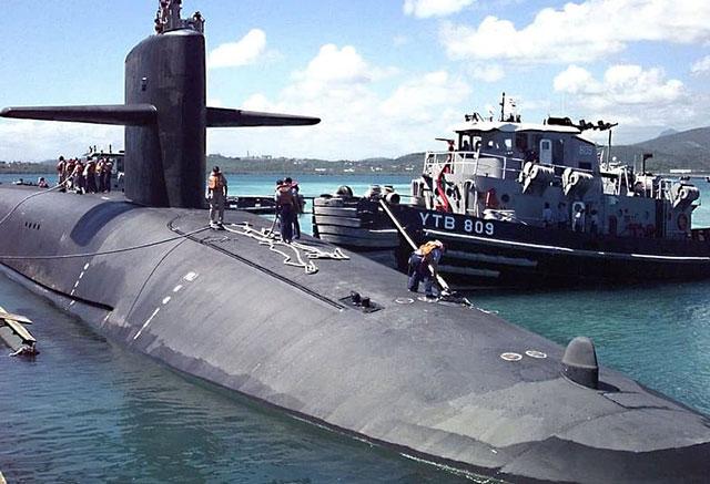 OHIO Class submarine